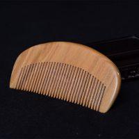 仙班古典檀木梳子 高档木质保健梳 复古时尚美发梳 新款木梳批发