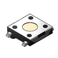 TACTILE-SWITCH SOFNG 外形尺寸:6.0mm*6.0mm*3.1mm