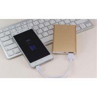 厂家批发薄米移动电源超 薄款手机通用充电宝5000毫安 一手货源