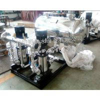 安徽 西安全自动无负压变频供水设备 双泵一用一备恒压变频