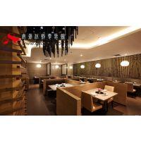 合肥餐饮店面装修餐馆装修效果图中式餐厅装修设计