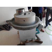 流动花生酱石磨机 油坊专用电动 鼎信厂家