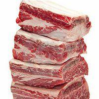 中鼎兴供应库存农产品进口牛肉牛肋条 阿根廷澳洲巴西当年货速冻保鲜直供