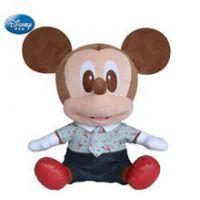 迪士尼公仔正版米奇毛绒玩具 米老鼠娃娃 圣诞节日礼物 现货批发