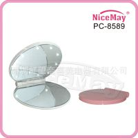 深圳虹望奈喜美LED圆镜 LED圆形8孔化妆镜 灯镜 PC-8589