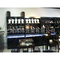珠宝展柜古懂工艺品货架收藏品展柜瓷器货架上海厂家定做