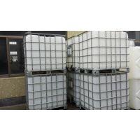[低价销售]1000L塑料吨桶/1吨铁围栏化工专用吨桶
