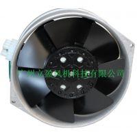 热销机柜配电柜散热风扇liying全金属轴流风机16255银色外框接线端子型风扇