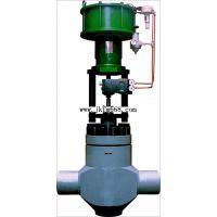气动锅炉给水调节阀 铸钢锅炉给水调节阀制造 直通式锅炉给水调节阀厂家-金口制造