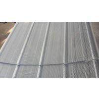0.6镀锌穿孔压型钢板瓦楞打孔钢板900型乳白色