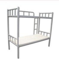 学生双层铁架床生产厂家-牢固双层铁架床批发商-双层铁架床尺寸