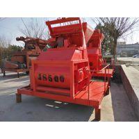 天水郑科JS500强制式高效混凝土搅拌机械