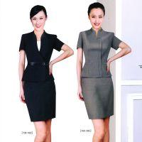 新款职业装女装套装裙夏装小西服职业套装裙设计厂家定做