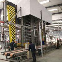 供应青岛国森机械制造的全自动生产高密度多层竹胶板热压机