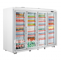 高速公路服务区饮料冷藏展示柜冰柜玻璃门展示柜价格