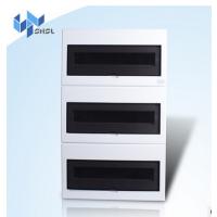 上海士林别墅配置45回路M三排塑面铁底照明配电箱 安全的家用箱