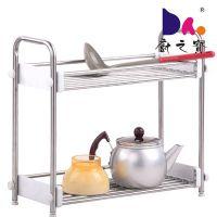 供应厨之宝厨房置物架微波炉架落地不锈钢锅架厨房用品收纳储物架