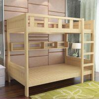 成都公寓床实木学生床定做