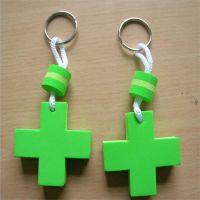 深圳同球供应 玩具制品钥匙配饰挂件 EVA双面可印logo钥匙扣