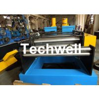 GCr15 Steel Roller, 16 Steps Forming Station Cable Tray Profile / Cable Ladder Roll Forming Machine
