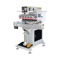 单色移印机东莞优彩150P油盅单色穿梭移印机
