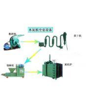 郑州祥达机械全套小型木炭机价格