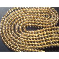 天然水晶  珠宝饰品  手链 水晶挂件 玛瑙  AA6MM金发圆珠