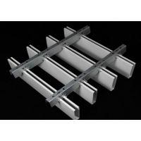 铝方通吊顶节点图|铝方通吊顶施工图|铝方通吊顶效果图