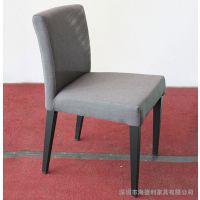厂家直销 定制实木简约餐厅椅子 可拆洗餐椅 酒店咖啡厅靠背餐椅