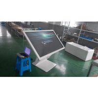 上海厂家65寸卧式触摸一体机安卓系统后台管理可定制酒店办事大厅连锁店适用