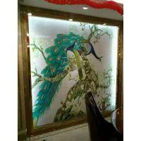 瓷砖印花机_陶瓷彩雕背景墙制作设备 3duv平板 玻璃瓷砖