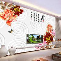 别墅客厅现代简约装饰画酒店工程挂画永煜壁画设计师配画个性定制