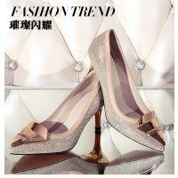 2015春款高跟女鞋高端外贸时尚欧美新款欧洲站细高跟鞋批发女单鞋