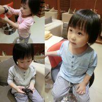 定制秋冬季婴幼儿男女宝宝儿童装纯棉长袖套头打底衫T恤衣服