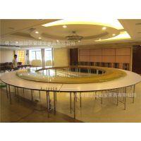 3.2米电动转盘 搭配4米大圆桌自动转盘 插电 遥控 变向变速 定制