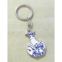 供应台湾旅游纪念钥匙扣/采用烤漆工艺制作/石家庄低价钥匙扣厂家