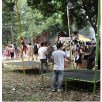 儿童带护网跳跳床广场玩具 宝宝益智玩具蹦极蹦床 游乐场玩具蹦极床跳跳床