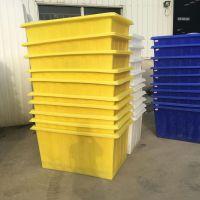 兰西县养鱼养龟pe塑料方箱 450L滚塑塑料方桶批发供应