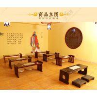 国学幼儿园国学教室 儿童国学课桌椅厂家 古典传统国学课桌