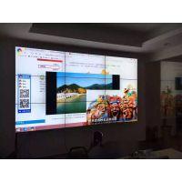安防视频监控中心酒店专卖店46寸55寸三星LG液晶拼接屏