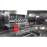 【邵峰机械】全自动多头活塞式伺服灌装机 洗衣液灌装生产线 日化设备 常压 瓶 液体