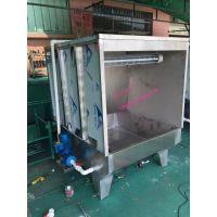 东莞鑫动供应水濂喷油柜、水帘喷漆台|水洗式自动化喷油柜