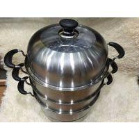 成都不锈钢蒸锅四层蒸锅炖锅汤锅批发