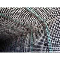 销售塑料锚网 双向拉伸塑料网厂家