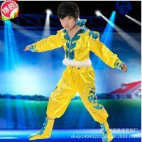少数民族表演服少儿童蒙族舞蹈服西藏族幼儿蒙古舞服装舞台演出服