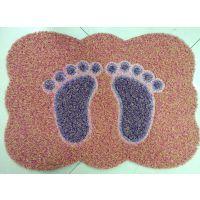 喷丝拼图地垫 防滑地垫入室地毯门垫 塑料橡胶脚垫