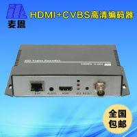 热销2002-BNC HDMI CVBS高清视频编码器 酒店IPTV前端 直播编码器