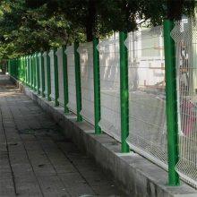 旺来小区护栏 三角折弯护栏网 热镀锌围栏