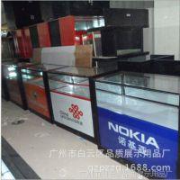 SM-069中国联通手机展柜 玻璃手机柜台维修台 展示柜品质烤漆