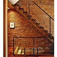 洪山铁艺楼梯、武汉铁艺楼梯扶手、户外铁艺楼梯